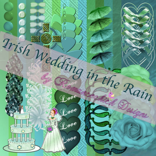 Irish Wedding in the Rain